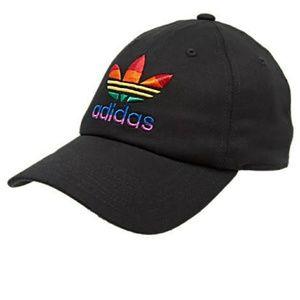 Adidas originals pride relaxed adjustable hat.